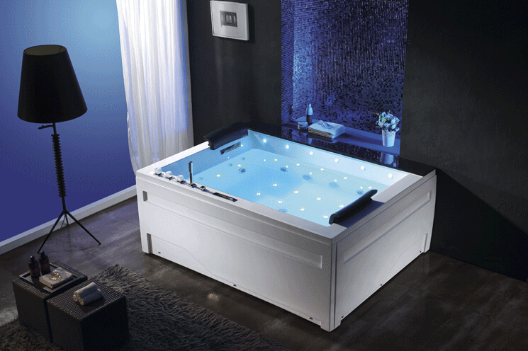 2 person 1.8 meter long rectangular small bathtub sizes