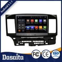 Cheap 7 inch Android 5.1.1 Built in Wifi car dvd GPS navigation for Mitsubishi Lancer EX 10