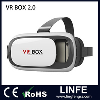 VR Box 2.0 Cheapest price vr box 3d glasses virtual reality 3d video glasses with vr 2nd generation headset