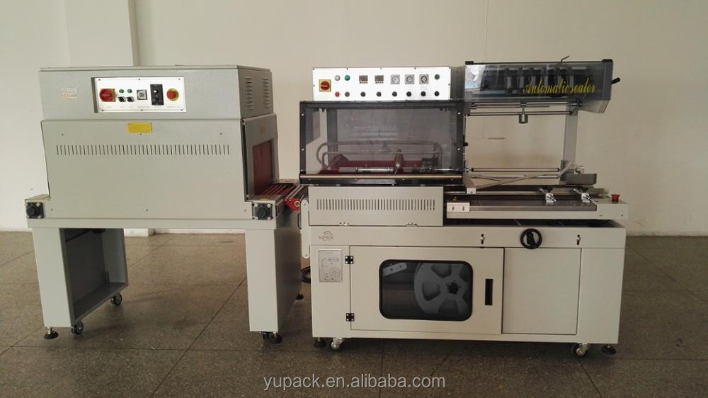 L sealer full automatic shrink wrapping machine for box,books