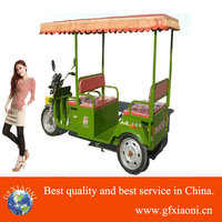 Strong powered hot 600W-1000W battery electric 3 wheel rickshaw for passenger tuk