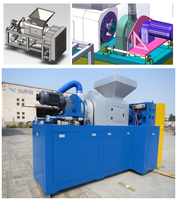 plastic film squeezing dewatering drying machine/squeezing dryer/squeeze dryer