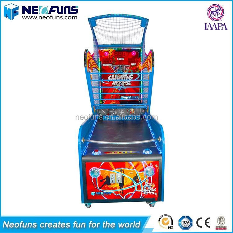 High Quality Popular Coin Operated Basketball Shooting Machine Arcade Game Machine/Basketball Game Machine/