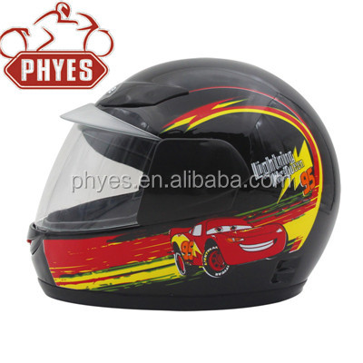 CHILDREN KIDS FULL FACE MOTORCYCLE HELMET WITH CE STANDARD