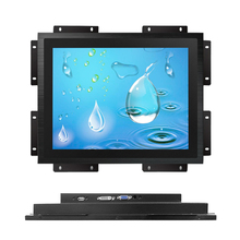 Open frame 17 inch 1000 nit touchscreen monitor window dvi