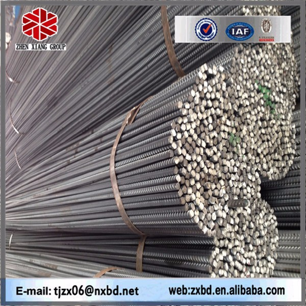 Standard quality BS4449 G460 construction reinforcing steel bar deformed, rebar,