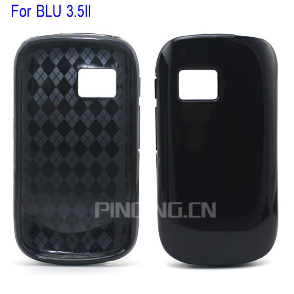 for blu dash 3.5 ii tpu case, soft tpu back cover case for blu dash 3.5 ii 2 d342l d352u