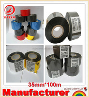 Hot selling Yida brand FC3 type black 35mm*100m high quality Hot Foil Ribbon for ribbon printing machine made in China