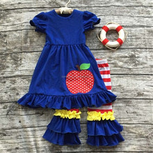 CONICE NINI brand newest frock design for girls back to school boutique children clothes girls
