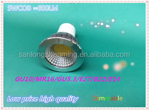 new design mr16,gu10 cob led spot light cob 5w 6w 7w 9w 10w E27 led bulb 2700-6500k 600lm 220v
