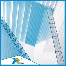 Plastic polycarbonate sheet 100% new Bayer Makrolon for skylight awning