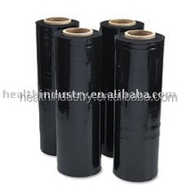 manual wrap black LLDPE stretch films for pallet wrapping