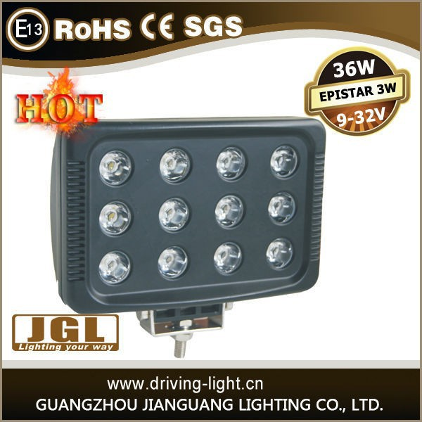 JGL Model 5JG-SFE36W 12v 36w led worklight portable led 12v work lights led work lights with dimmer 36W led work lights