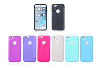 Hybrid PC Clear TPU Bumper Cell Mobile Phone Case Cover For iPhone6 6s