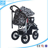 Eye-catching more secure baby car Three wheeled baby trolley baby pram
