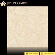Hot sale foshan aran white with yellow marble look porcelain tile wholesale in 80x80