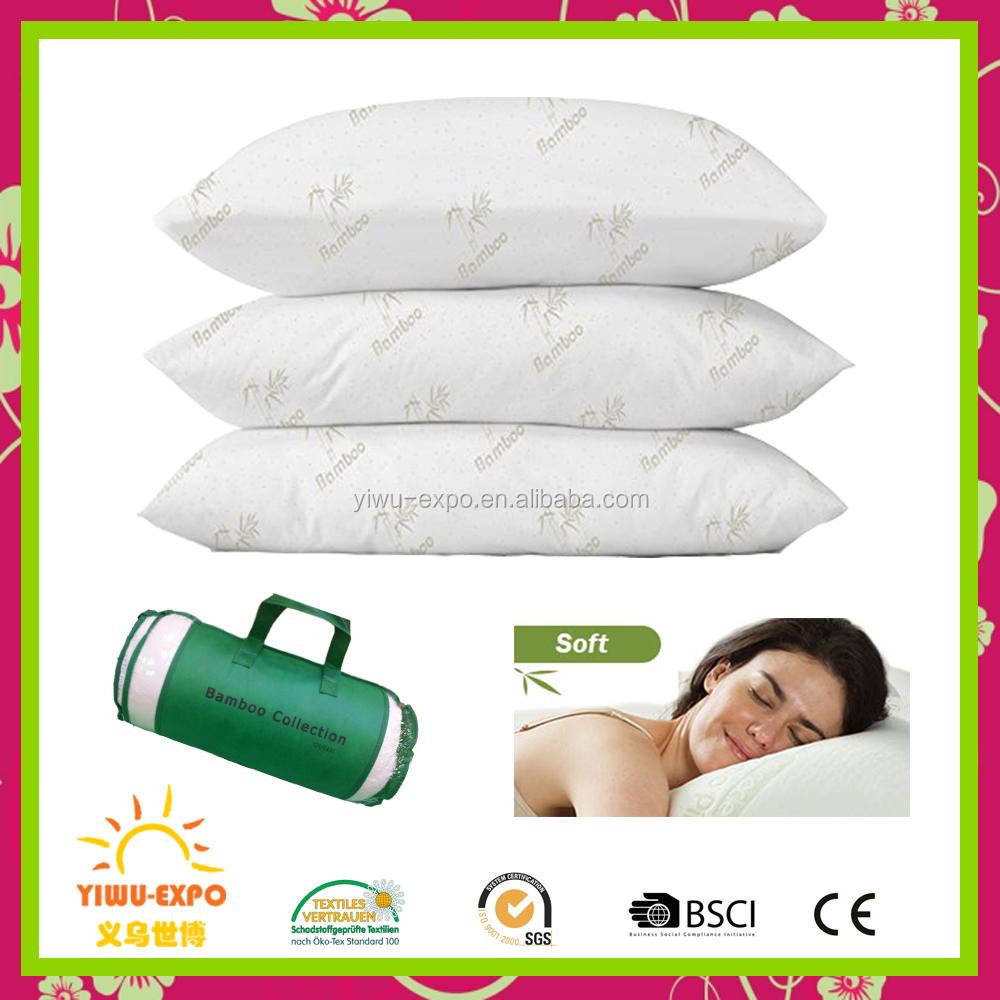 Wholesale miracle bamboo pillow shredded memory foam pillow breathable bamboo rest pillow manufacturers