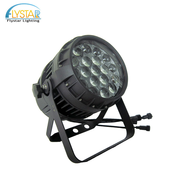 High power stage lighting 12w 19pcs rgbw 4in1 outdoor led par 64 zoom