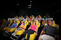 Customized 5d cinema 3d movies