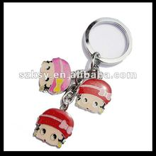 Fashion metal key ring maker