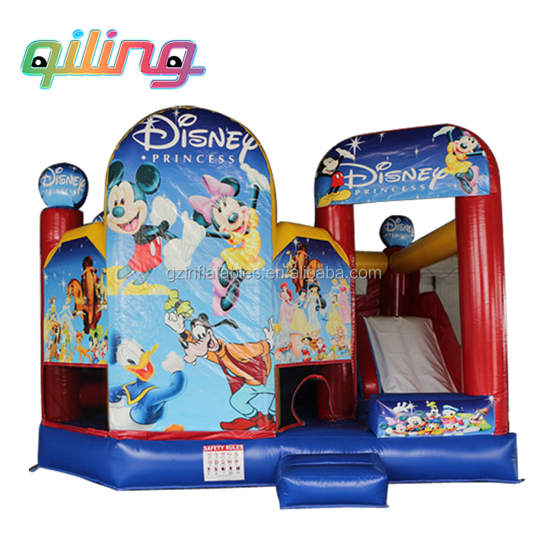 Mickey & Minnie bouncer inflatable bounce house, jumper Mickey Mouse jumping castle
