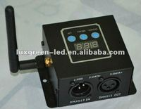 DMX controller master/slave sound controller and wireless dmx