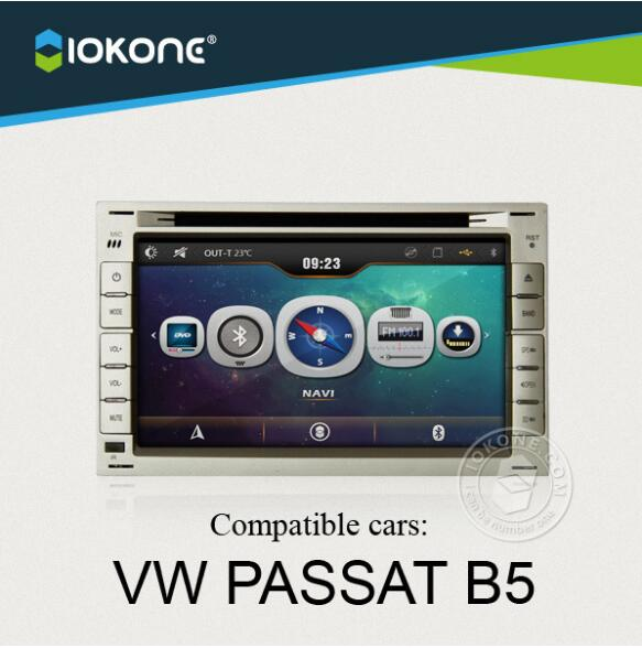 HD touch screen android car radio gps player for VW PASSAT B5/ Golf 4 r Polo / Bora /Jetta / Sharan / T5 Bluetooth Navigation