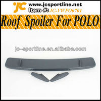For VW POLO CUP PU Roof Spoiler/PU Roof Boots Spoiler Lip For POLO