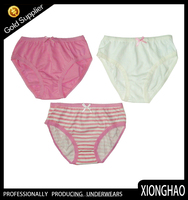 The most popular and nice pattern preteen kids underwear for young girls