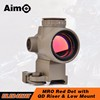 Aim-O Holographic Red Dot Sight Optic Riflescopes China Gear With QD Riser Mount Low Mount For AR 15 AO5087