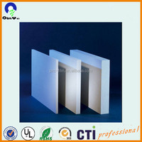 18mm thick lightweight PVC foam sheet/board