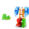 Children educational robots shape interesting alphabet puzzle toys