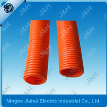 20MM Australian standard HD orange pvc flexible conduit, 20MM AS/NZS2053 heavy duty flexible corrugated electrical conduit pipes