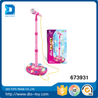 toys 2015 for kids electronic toy microphone with stand