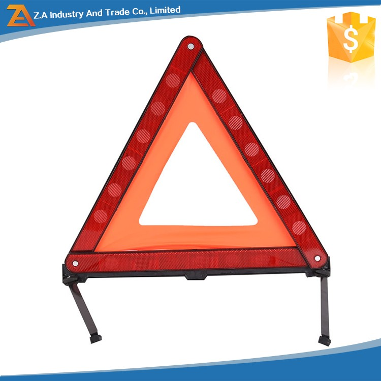High Visibility Car Emergency Roadside Accident Triangle Reflector For First Aid Self Rescue