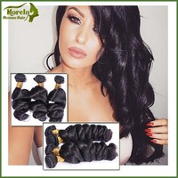 Cheap and high quality Indian loose wave virgin hair