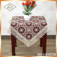 Table Cloth Embroidery Table Cover Home Decor Organdy Tablecloth