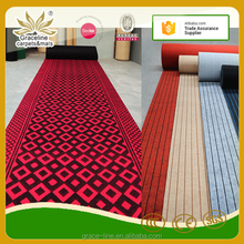 100% polyester high low colourful carpet jacquard carpet prices lowes