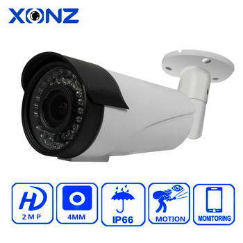 Ip66 Outdoor Weatherproof Night Vision 36 IR Led Surveillance Full HD For Outside Housing IP CCTV Camera