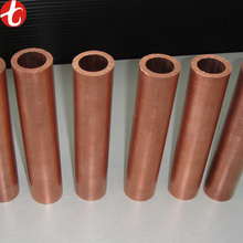 Straight C10100 C10200 C12000 C11000 Red Copper Tube / Copper Pipe with factory price