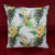 Multi color plants patterns heat transfer printing canvas sofa decoration cushion cover