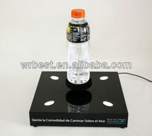 Levitating and floating!! Magnetic floating drink display