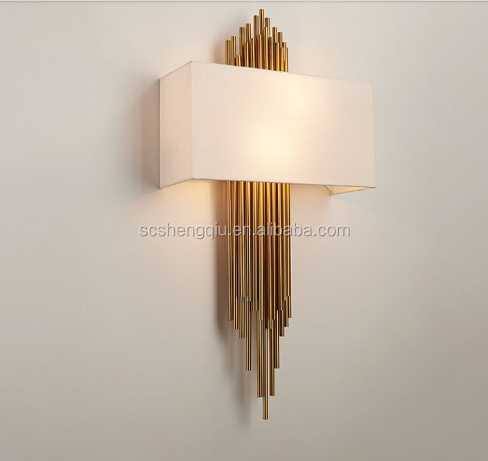 Postmodern creative personality retro engineering model room wall lamp Nordic IKEA hotel decorative hallway wall lamp