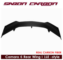 For Camaro 6 SS ZL1 1LE Style Carbon FIber Rear Wing Spoiler 2017+