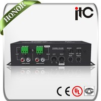 ITC T-260AP 60W Dual Channel Fixed Impedance Output Wall Mount Stereo Mini Amplifier Digital