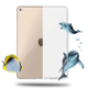 TPU Bumper Case For iPad 2 3 4 Ultra-Thin Flexible Silicone Gel Protective Case Cover for Tablet 9.7 inch