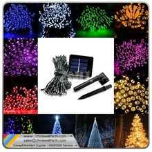 Starry tiki solar micro led string lights