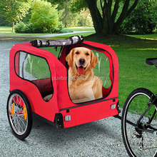 Popular CE approved Pet Bike Trailer Dog Cat Bicycle Trailer Pram Stroller Jogger Foldable(PT004)