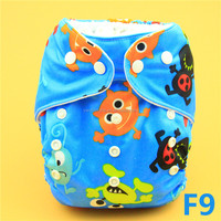 F9 YiWu ChangHe Hot Sale New Print Free Sample reusable baby diapers