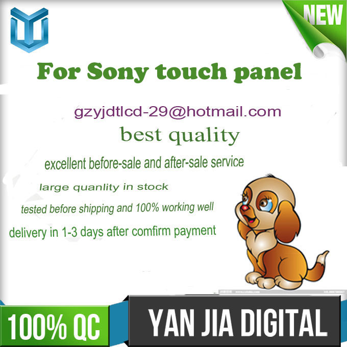100% tested original touch screen panel for sony xperia x2